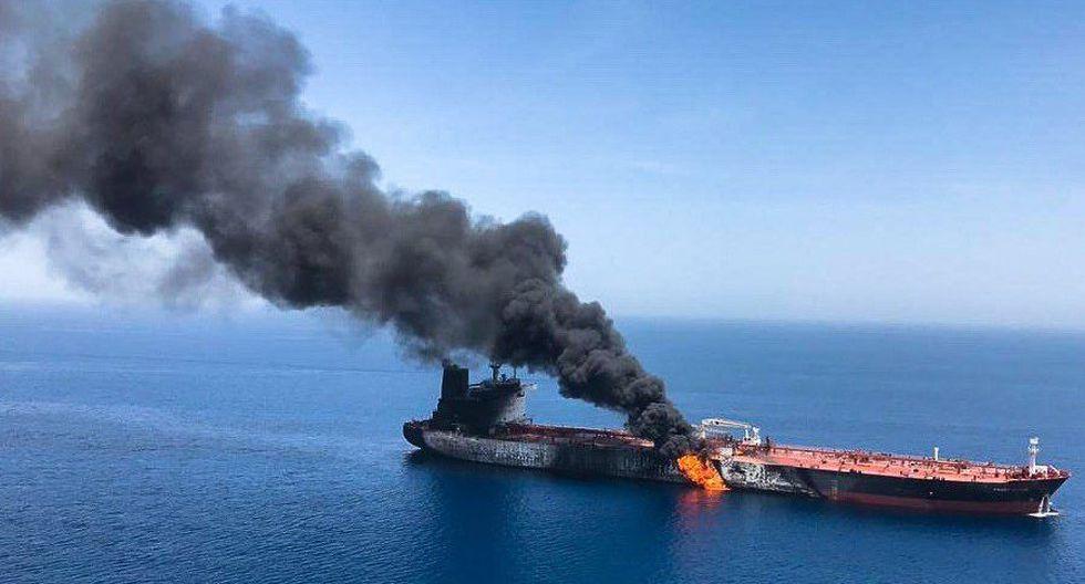 "Estrecho de Ormuz: Donald Trump llama a países importadores de petróleo a ""proteger sus propios buques""   Irán. (EFE)."