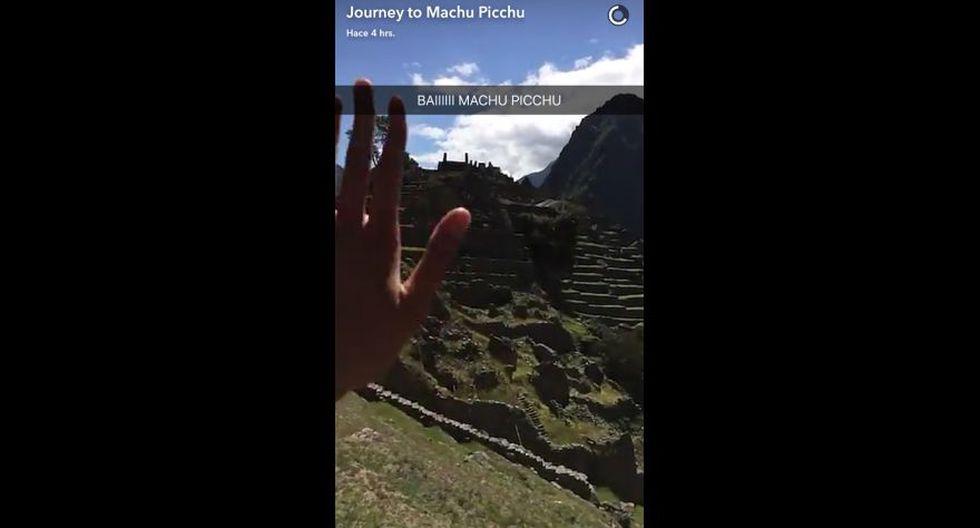 Snapchat promocionó Machu Picchu ante millones de usuarios - 4