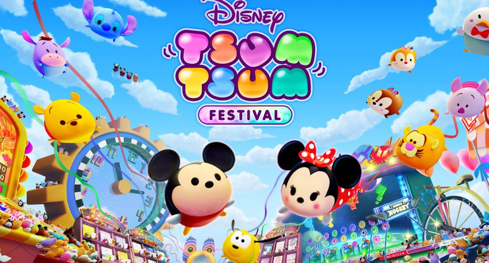 Disney Tsum Tsum Festival es un exclusivo de Nintendo Switch. (Difusión)