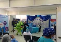 Huancavelica: con actuación teatral, enfermeras resaltan la importancia de la vacuna contra el coronavirus | VIDEO