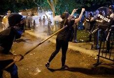 Disturbios y choques con la policía en otra jornada de protestas contra el racismo en Estados Unidos