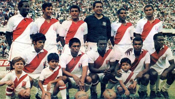La inolvidable selección peruana en el Mundial de México 70. FOTO: Archivo Histórico El Comercio.