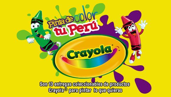 Crayola pinta tu Perú