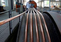 Cobre sube mientras que zinc toca máximos tras recorte producción Nyrstar