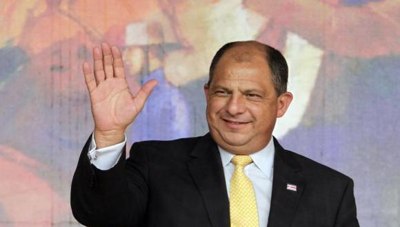 El presidente de Costa Rica, Luis Guillermo Solís. Foto: Reuters