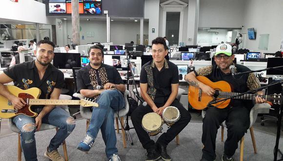 "Bareto presenta en vivo el videoclip del tema ""Ven mi amor"""