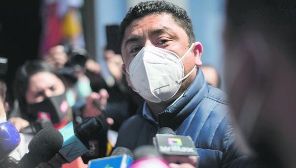 La fiscalía pidió 20 años de prisión contra Guillermo Bermejo, acusado por pertenencia y afiliación terrorista a los remanentes de Sendero Luminoso del Vraem, entre el 2008 y marzo del 2009 | Foto: Renzo Salazar / @photo.gec