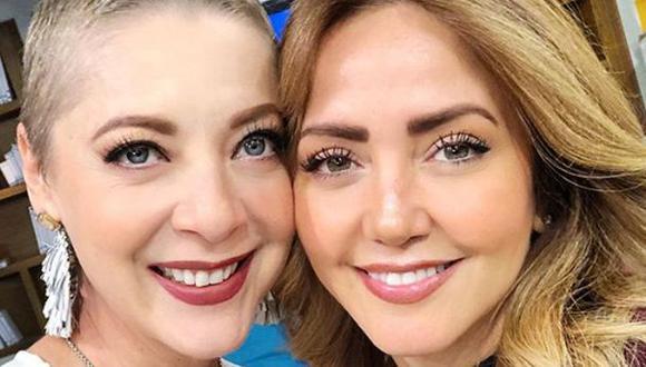 Edith González y Andrea Legarreta. (Foto: Instagram)