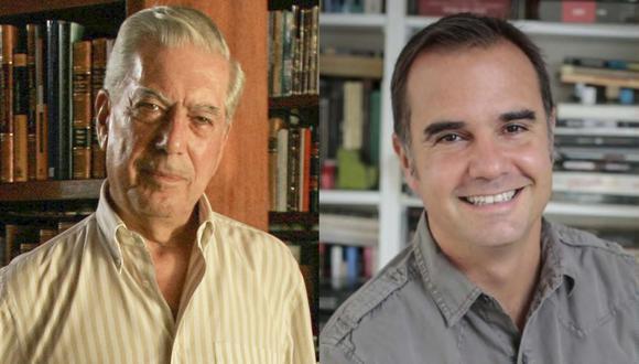 Mario Vargas Llosa anuncia a Raúl Tola como director interino de la Cátedra que lleva su nombre. (Foto: Enrique Cúneo/Archivo/GEC)