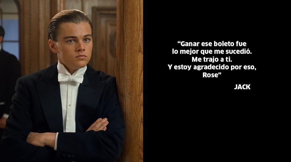 """""""Titanic"""": Las 10 frases más románticas de la película - 5"""