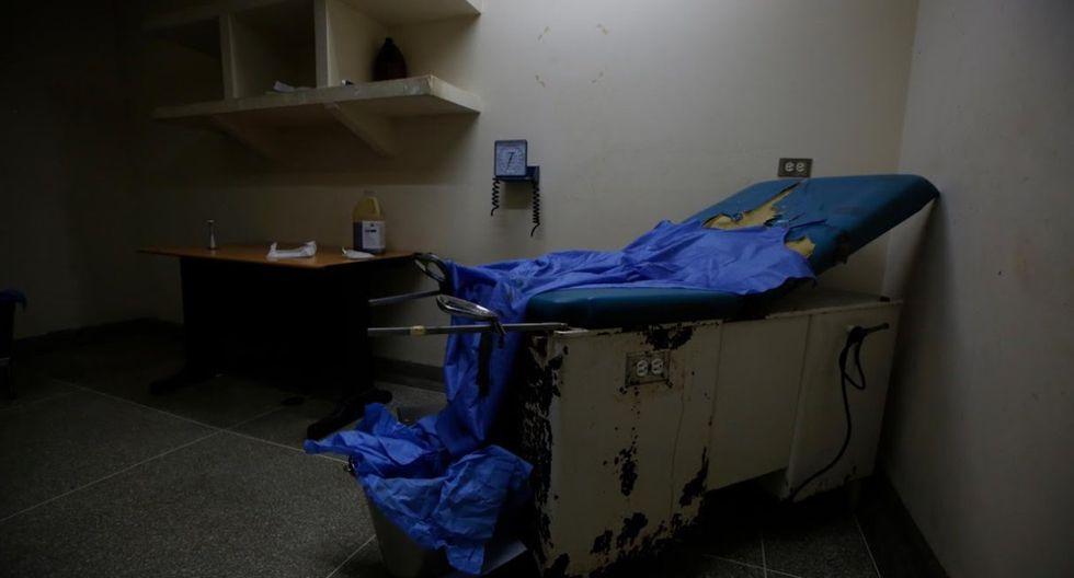 Vista de la sala de maternidad del hospital Felipe Guevara Rojas. (Foto: Reuters)