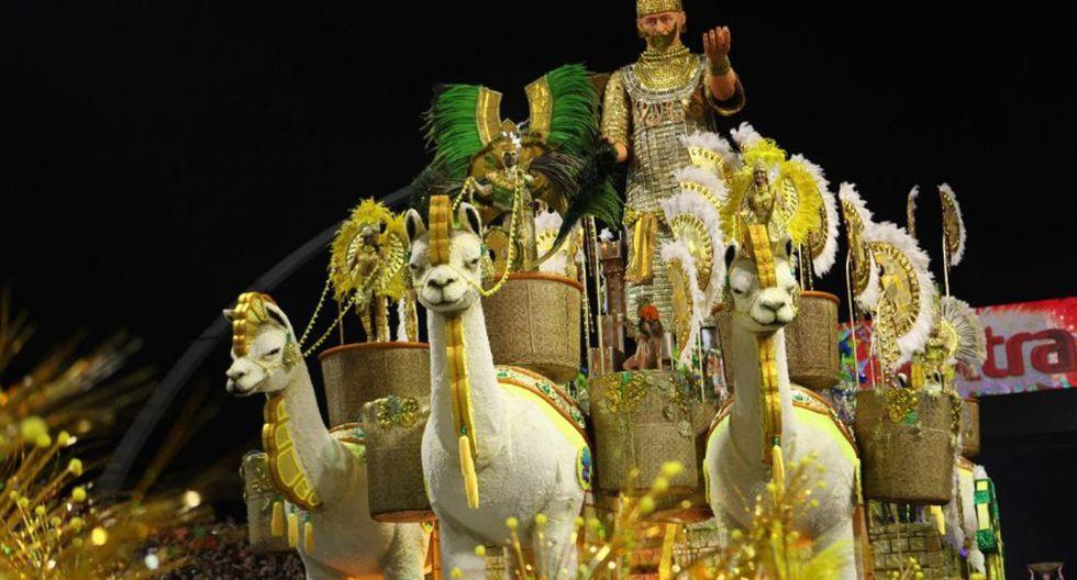 El Señor de Sipán también llegó a Sao Paulo. (Foto: Escola Unidos Vila María)