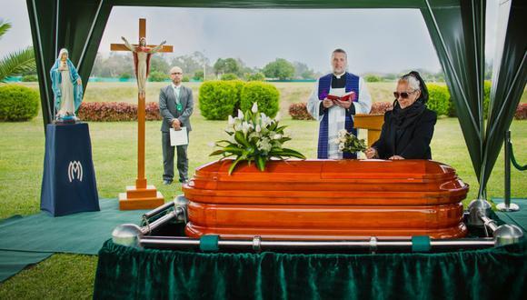 Los servicios funerarios, como parte de la categoría de bienes esenciales, continúan funcionando. (Foto: Parque del Recuerdo)