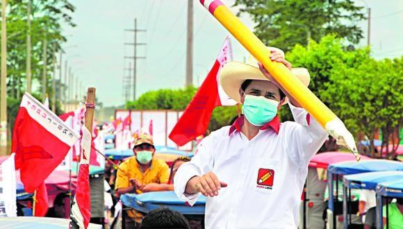 Pedro Castillo, candidato a la presidencia por el partido Perú Libre. (Foto: Difusión)