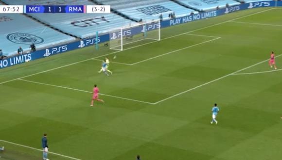 Real Madrid vs. Manchester City: nuevo error de Varane le permitió el 2-1 a Gabriel Jesús | VIDEO