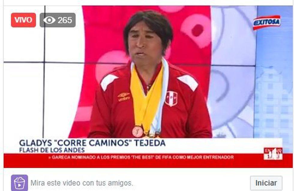 Imitador Fernando Armas ha sido criticado por la imitación a la medallista Gladys Tejeda. (Imagen: Facebook)