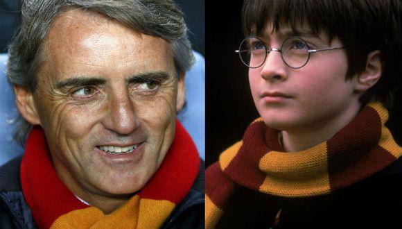 ¿El técnico del Galatasaray usó la bufanda de Harry Potter?