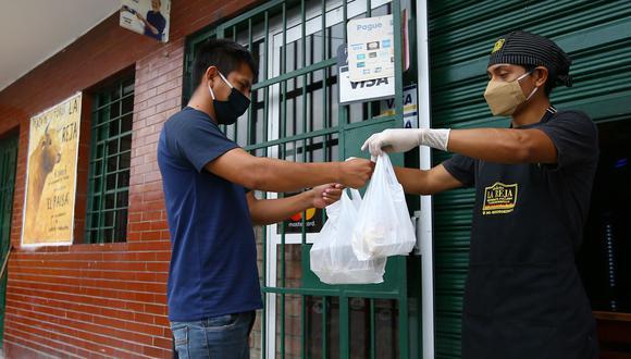 El delivery no será la única actividad económica permitida en la cuarentena que inicia el 31 de enero. (Foto: Fernando Sangama GEC)