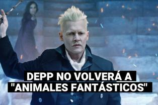 """Johnny Depp: actor no volverá a interpretar a Grindelwald  en """"Animales Fantásticos"""""""