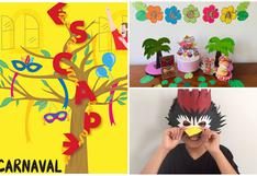 Tiempo de carnaval: Cinco divertidas y seguras formas de celebrar esta fecha en casa