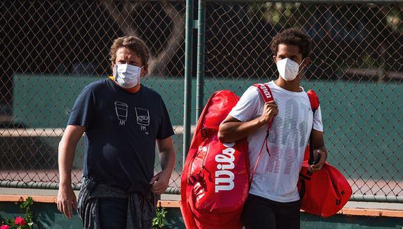 Varillas volvió a competir en el Perú tras una gira por Europa. (Foto: Lima Challenger)