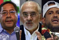 Quiénes son los candidatos favoritos para ganar las elecciones presidenciales en Bolivia