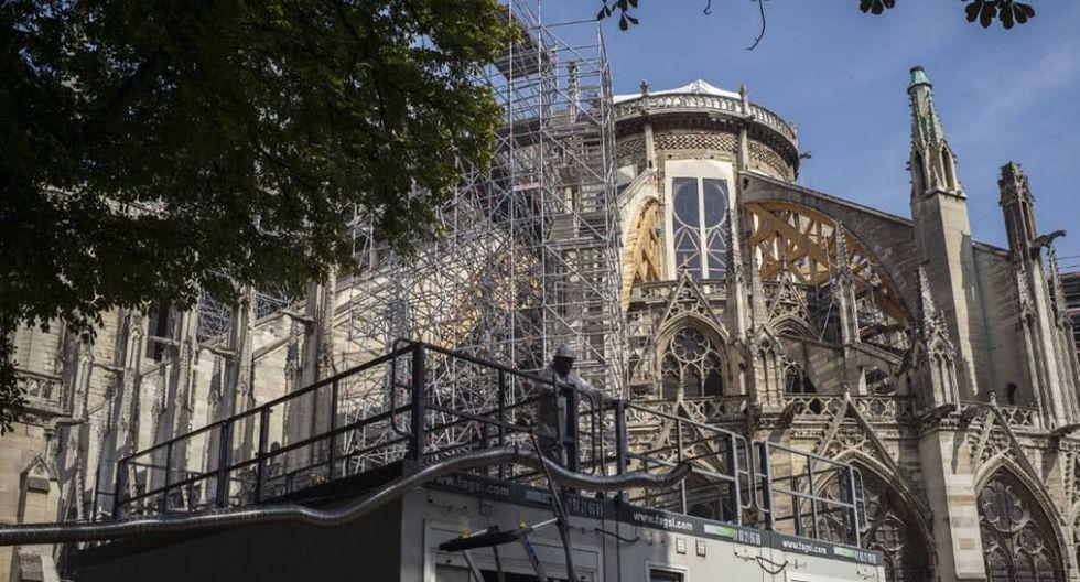 Notre Dame | Arquitecto venezolano Leonardo Nepa ganó concurso sobre la reconstrucción de la catedral que se incendió el 15 de abril. Foto: AFP