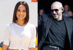 """Becky G sobre Pitbull: """"Su corazón es tan gigante como su talento"""""""