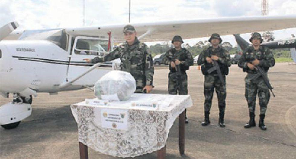 La avioneta intervenida hace tres días en Puno iba a transportar al menos 250 kilos de droga a Bolivia. (Foto: Manuel Calloquispe)