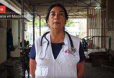 Esta doctora peruana protagoniza la nueva miniserie de Médicos sin Fronteras por su labor en África