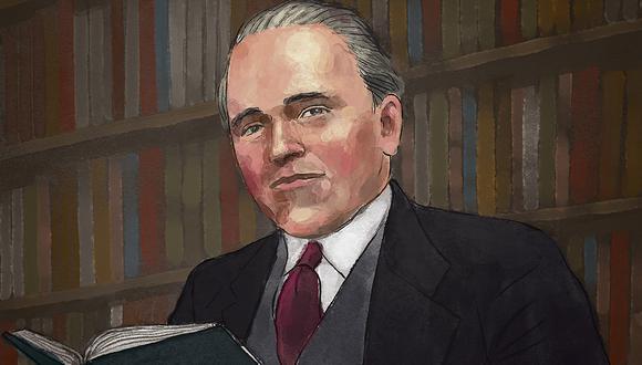 Raúl Porras Barrenechea (Ilustración: Víctor Aguilar)