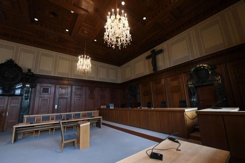 El tribunal en Núremberg como se ve en la actualidad y que forma parte de un museo que conmemora el proceso. (Getty Images).