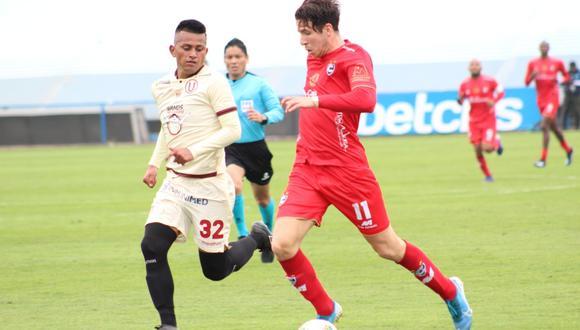 Chávez debutó en el 2012 con Universitario. (Foto: Universitario)