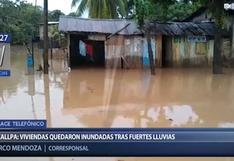 Ucayali: intensas lluvias inundan viviendas en Pucallpa   VIDEO
