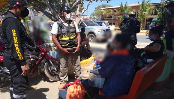 Piura: realizan operativo de control de identidad a ciudadanos extranjeros en Máncora (Foto: Municipalidad distrital de Máncora)