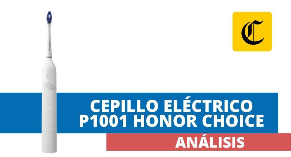 Hace unos meses se presentó en el mercado local un cepillo de dientes eléctrico bajo la marca Honor Choice. Cumple con su labor a un precio interesante. (El Comercio)