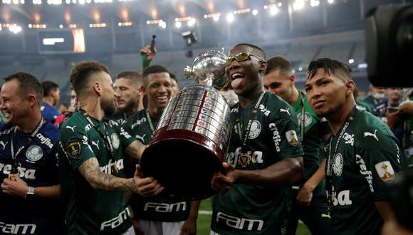 Palmeiras venció a Santos y se coronó campeón de la Copa Libertadores