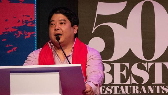 Mitsuharu Tsumura en los 50 Best Latam 2019. (Foto: Difusión)