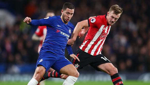 Chelsea no pudo vencer la resistencia del arco de Southampton. Los 'blues' igualaron a cero en casa y no aprovecharon su oportunidad para sumar de a tres. (Foto: AP)
