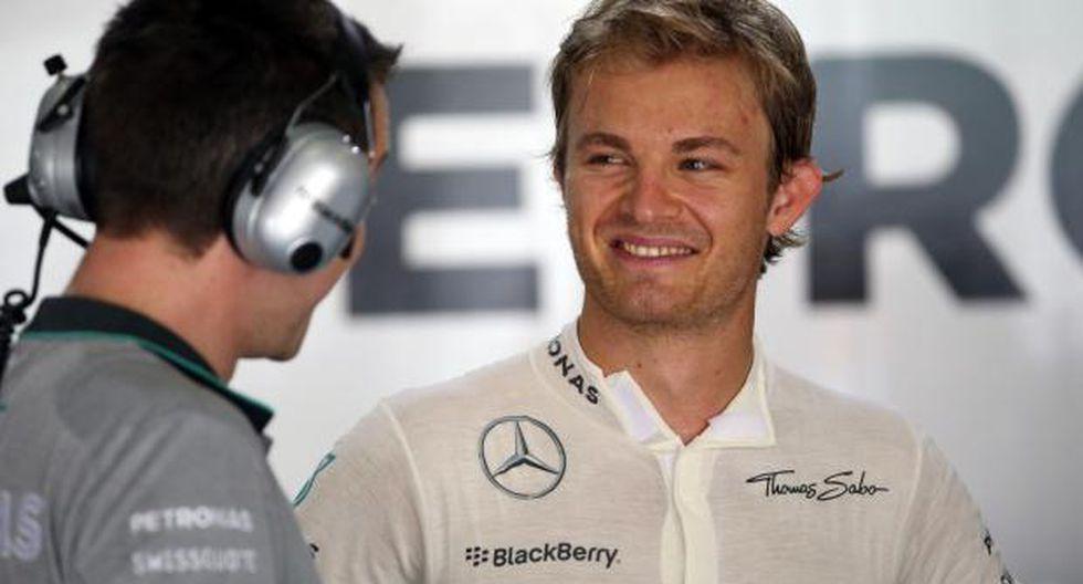 F1: Rosberg lidera la segunda prueba en Malasia