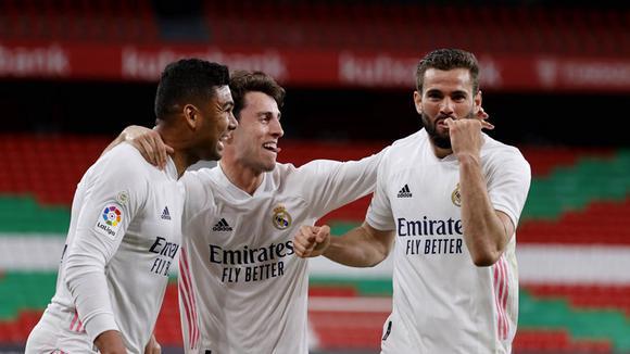 Real Madrid vs. Athletic: mira el gol de Nacho para el 1-0 final a favor de  los merengues en San Mamés   LaLiga Santander   VIDEO   DEPORTE-TOTAL   EL  COMERCIO PERÚ