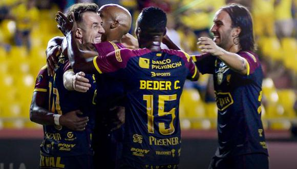 Barcelona venció 2-0 a Olmedo en Guayaquil por la fecha 15° de la Liga Pro. (Foto: Twitter Liga A de Ecuador)