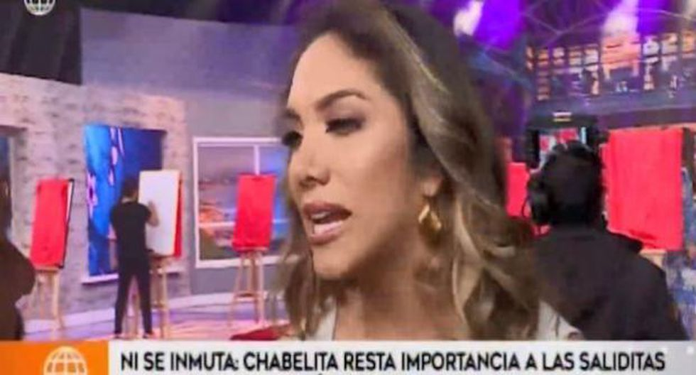 Isabel Acevedo fue consultada por las salidas de Christian Domínguez y Pamela Franco. (Imagen: América TV)