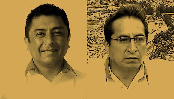 Guillermo Bermejo (a la izquierda) y Alfredo Pariona (derecha) está por ocupar una curul en el Congreso como representante por Lima de Perú Libre. (Composición: El Comercio)