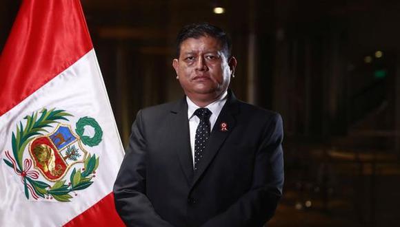 """Ayala, minimizó su destitución de la Policía Nacional del Perú en el año 2000 por presuntamente haber facilitado la fuga de un requisitoriado porque """"pasó cuando tenía 22 años"""". (Foto: GEC)"""