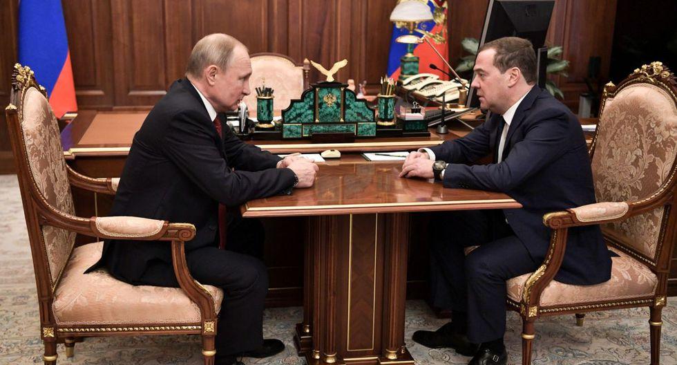 Resultado de imagen para renunció el primer ministro, Dimitri Medvedev