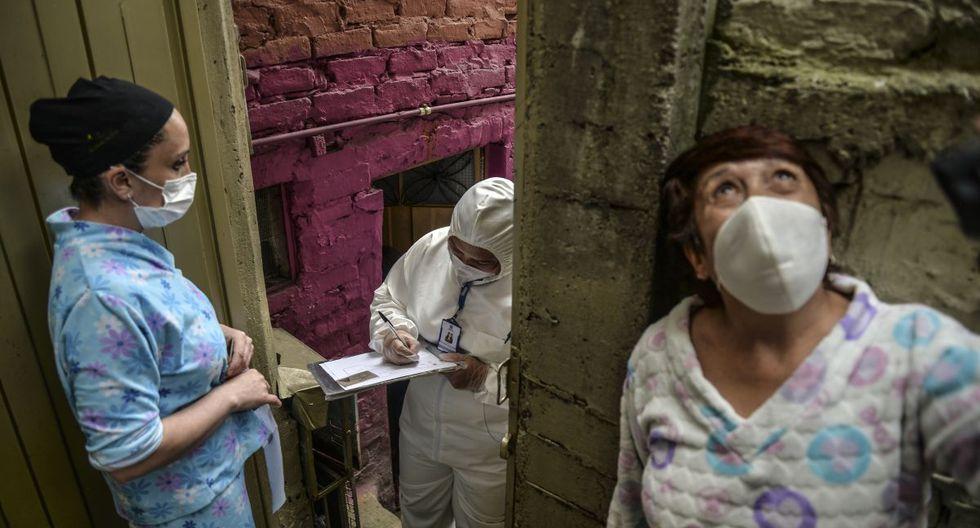 Mientras tanto, en Colombia ya suman miles de infectados por coronavirus, así como decenas de muertos (Foto: AFP)