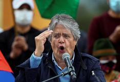 "Guillermo Lasso anuncia ""un verdadero cambio"" para Ecuador tras poner fin a la era correísta"
