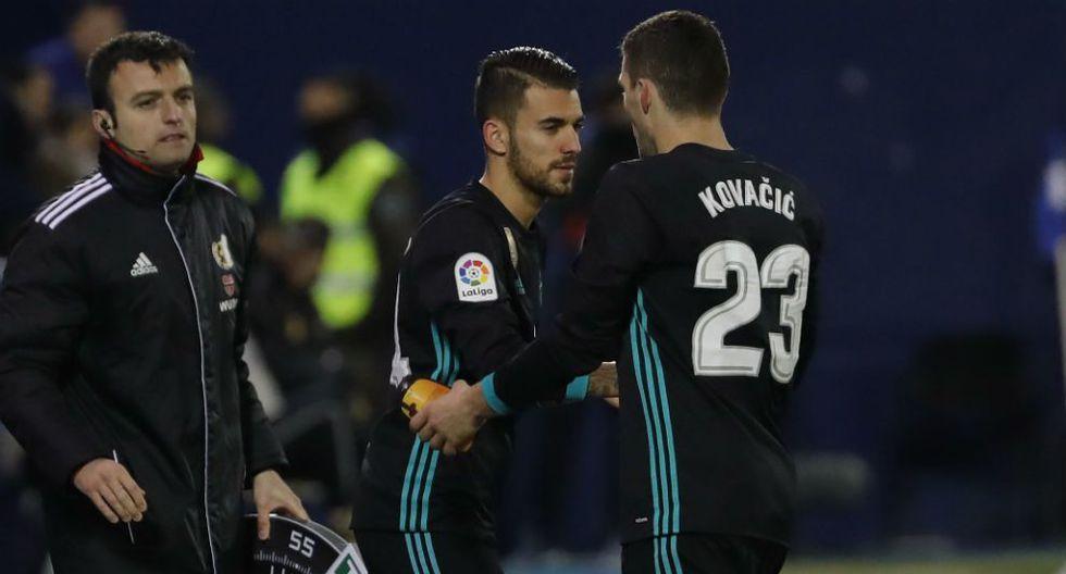 Zinedine Zidane ordenó el ingreso de Dani Ceballos ante Leganés cuando apenas restaban 27 segundos de juego, hecho que para muchos fue una humillación al jugador. (Foto: Pablo García)