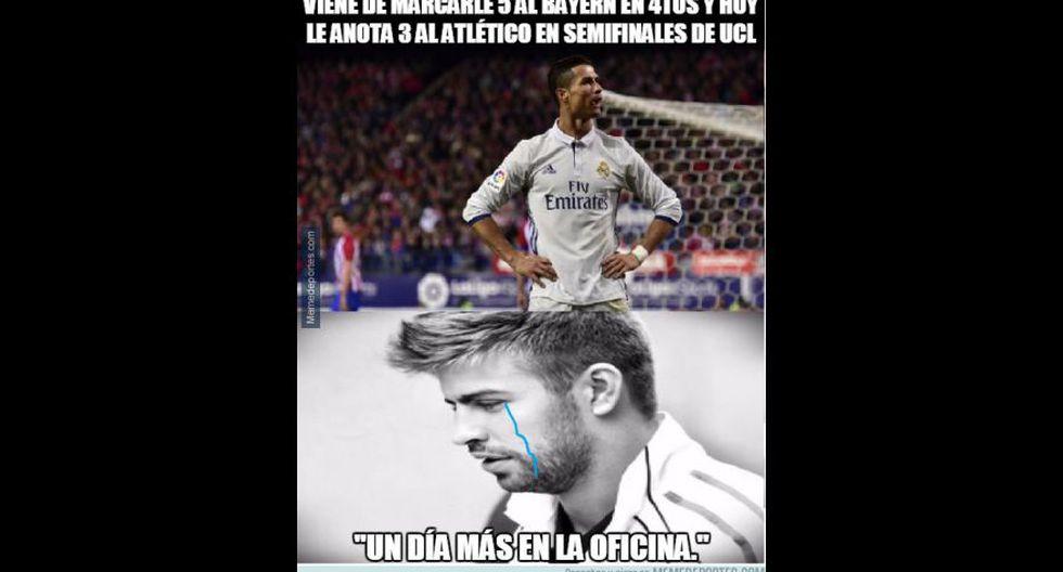 Real Madrid-Atlético de Madrid: así se comenta derbi con memes - 8